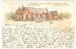 Exposition Internationale De Bruxelles 1897 - Quartier Du Vieux Bruxelles - 1898 - Expositions Universelles