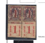 Cuba 1902 Colombo E Altri  Scott.232/ Surch. Doppione   See Scans - Unused Stamps