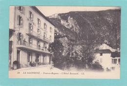 Old/Antique? Postcard Of Dauphine,Route Des Grands Goulets,French Alps. Auvergne-Rhone-Alpes, France,Q63. - Rhône-Alpes