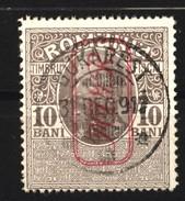 Militärverwaltung In Rumänien,Zwangszuschlagsmarken,Nr.6,o,gep. - Besetzungen 1914-18