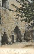 - Calvados -ref-F276- Ruines De L Abbaye De Grestain - Abbayes - Batiments Et Architecture - Carte Colorisee Bon Etat - - Andere Gemeenten
