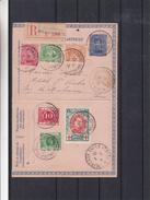 Belgique - Carte Lettre Rec De 1916 - Oblit Poste Belge St Adresse -Croix Rouge - Exp Vers Issy Les Moulineaux En France - 1915-1920 Albert I