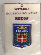 ECUSSON Tissu Neuf, Feutrine Brodee, FREJUS - Ecussons Tissu