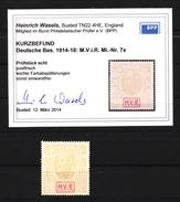 Militärverwaltung In Rumänien,Zwangszuschlagsmarken,Nr.7x,xx,Befund - Besetzungen 1914-18