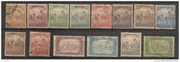 Timbres - Hongrie - 1916-1918 - Lot  De 14  Timbres -