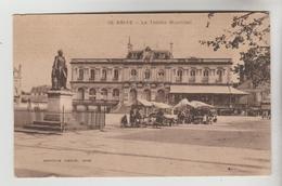 CPSM BRIVE LA GAILLARDE (Corrèze) - Le Théatre Municipal - Brive La Gaillarde