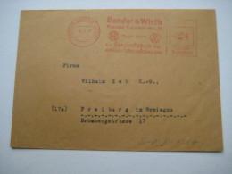 Firmen Freistempel , Meterstempel Auf Beleg Aus   1947 , Kierspe Bahnhof