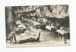 Cp , Hôtels & Restaurants , 46 , Terrasse Du RESTAURANT Du Puits De PADIRAC , Vierge - Hotels & Restaurants