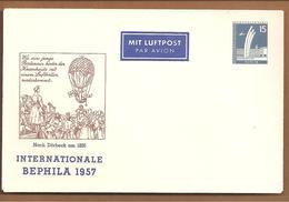 Berlin PU17/6  Bephila 1957. Luftballon - Berlin (West)