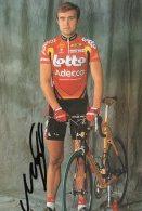 5492 CP  Cyclisme   Guennadi Mikhailov   Dédicacée - Cyclisme