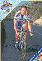 5524 CP Cyclisme  Stefano Zanini    Dédicacée - Cyclisme