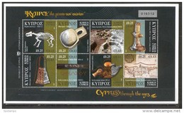 Cyprus 2007 (Vl 936-943) Cyprus Thrugh The Ages MNH