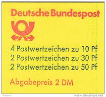 BRD MH 22 I W OZ, Postfrisch **, Burgen Und Schlösser 1980