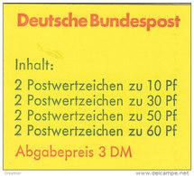 BRD MH 23 C OZ, Postfrisch **, Burgen Und Schlösser 1980
