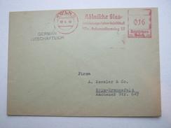 Firmen Freistempel , Meterstempel Auf Beleg Aus   1946 , Köln