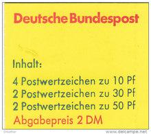 BRD MH 22 I E OZ, Postfrisch **, Burgen Und Schlösser 1980