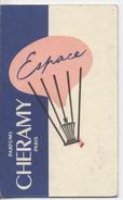 58 - NEVERS  - CALENDRIER PARFUME  -  Parfum  - Coiffure FABREGUETTE  Roger - 1958 - Perfume Cards
