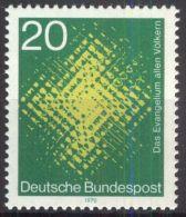 DEUTSCHLAND 1970 Mi-Nr. 647 ** MNH