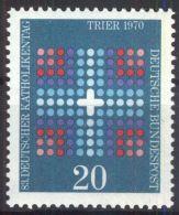 DEUTSCHLAND 1970 Mi-Nr. 648 ** MNH