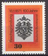 DEUTSCHLAND 1971 Mi-Nr. 658 ** MNH