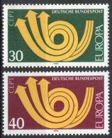 DEUTSCHLAND 1973 Mi-Nr. 768/69 ** MNH