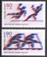 DEUTSCHLAND 1979 Mi-Nr. 1009/10 ** MNH