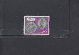 S.MARINO  1972 - Sassone  871**  - Moneta Su Francobollo