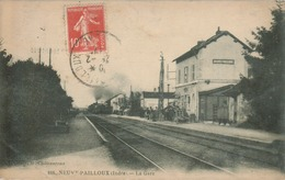 Neuvy-Pailloux - La Gare - Francia