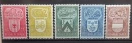 BELGIE   1946    Nr. 743 - 747       Scharnier *         CW  15,00