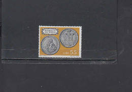 S.MARINO  1972 - Sassone  874**  - Moneta Su Francobollo