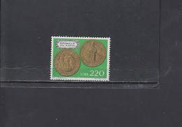 S.MARINO  1972 - Sassone  875**  - Moneta Su Francobollo
