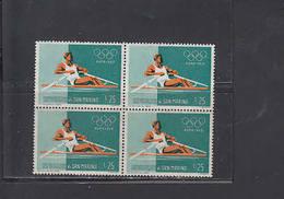 S.MARINO  1960 - Sassone  527 (quartina) - Sport  - Olimpiadi - Canottaggio