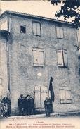 MAS-CABARDES - La Maison Natale Du Docteur Ferroul Maire De Narbonne Remise Du Drapeau à La Section Socialiste - France