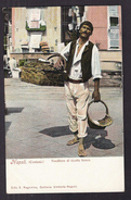 CPA ITALIE - NAPOLI - NAPLES ( Costumi. ) - Venditore Di Ricotta Fresca - SUPERBE PLAN PORTRAIT Vendeur Marchand - Napoli