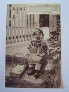Cp1107 Tom18 Notre Normandie Texte Patois  De Henri Ermice  Garçon  En Sabot , Panier Oeufs - Enfant