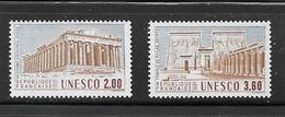 OA 8096 / FRANCE 1987 Yvert 98 à 99 ** - UNESCO Patrimoine Universel - Servizio