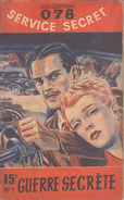 C1 Edward BROOKER Guerre Secrete 078 Service Secret # 7 1949 - Antichi (ante 1960)