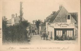 CPA - 27 - Cormeilles - Rue De Lisieux Et Place De La Gare - Frankreich