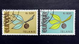 Island 395/6 Oo/used, EUROPA/CEPT 1965 - 1944-... Republik