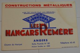 Les Hangars Remere à Angers - Buvards, Protège-cahiers Illustrés