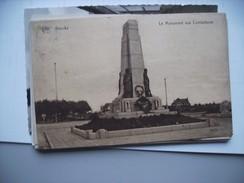België Belgique West Vlaanderen Knokke Monument Aux Combattants