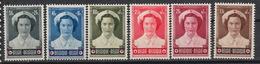 BELGIE : 912-17 ** – MNH – Mariage J.Charlotte & Jean De Luxembourg (1953) - Belgium