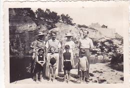 26098 Deux  Photo Erquy (22 France ) - La Carriere -juillet 1936 -Rennes 35 ! état !