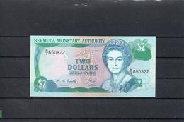 BERMUDA 1997, 2 DOLLARS, PK-40Ab, SC-UNC, 2 ESCANER - Bermudas