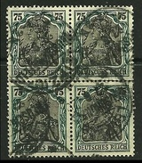 GERMANIA REICH 1916 / 20 - ALLEGORIA - N. 103 Usati - Cat. 10,00 € - Lotto N. 3273
