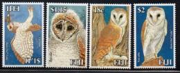 2006 Fiji Extinct Species Reptiles Complete Set  Of  4 MNH - Fiji (1970-...)
