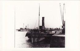 Ship Photo Paddling Tug PT Titchfield Tugboat Troon Ayrshire Clyde Paddle - Boats