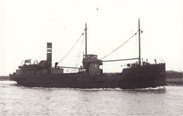 Ship Photo Coaster Isaac Stewart Preston River Ribble - Boats