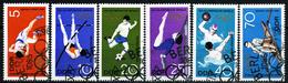 DDR - Michel 1404 / 1409 - OO Gestempelt (A) - Sommerolympiade 68