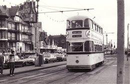 Tram Photo Sheffield Corporation Tramways 513 Blackpool 1985 Chas Roberts Car - Trains